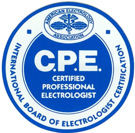 Northern Virginia Electrolysis Certified Professional Seal